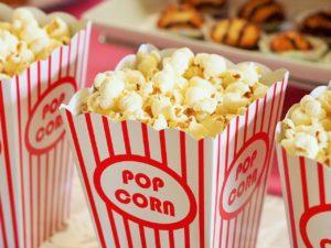 popcorn背景画像