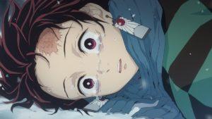 【アニメレビュー】鬼滅の刃の2話の感想|ねずこは辛抱してばっかりだと思うと泣けてくる